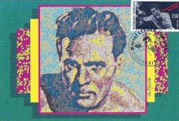 ILE DE FRANCE - 75 - PARIS - Sport Bixe Marcel Cerdan - 1916-1949 - Cartoline Maximum