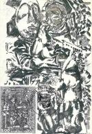 ILE DE FRANCE - 75 - PARIS - ART - François Rouan Faccia - Cartoline Maximum