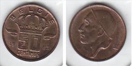 50 CENTIMES Bronze Baudouin 1983 FL - 1951-1993: Baudouin I
