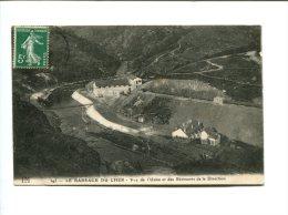 CP - BARRAGE DU CHER (41) 1912 Vue De L Usine Et Des Batiments De La Direction - France