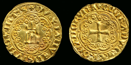 "[DO] GENOVA - Gabriele Adorno ""Doge V"" (1363-70)   GENOVINO (Oro/Or/Gold) - Monnaies Régionales"