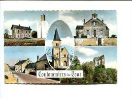 CP - COULOMMIERS LA TOUR (41) Différents Aspects De La Localité - France