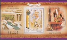 Hungary, Magyar Posta, 2005,Pope John Paul II, Block, ***, MNH - Pausen