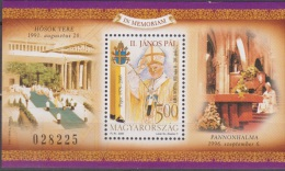 Hungary, Magyar Posta, 2005,Pope John Paul II, Block, ***, MNH - Päpste