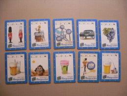 Lot De 10 SOUS BOCKS Differents De Biere HOEGAARDEN - Portavasos