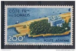 COTE DES SOMALIS AERIEN N°22 N* - Côte Française Des Somalis (1894-1967)