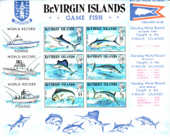 Britse Maagdeneilanden(Virgin Islands) Michel-cat.BF1 Vissen/fishes/poissons   MNH  ** - Iles Vièrges Britanniques