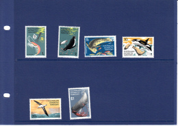 Australisch Antarctica 23/25/27/28/29/34  Vissen/fishes/poissons//robben  .set MNH - Territoire Antarctique Australien (AAT)