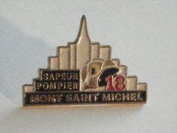 SAPEUR POMPIER-MONT SAINT MICHEL-MANCHE - Pompiers