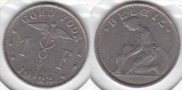 1 FRANCS Nickel 1922  FL - 1909-1934: Albert I