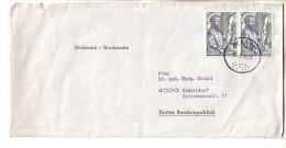 GOOD BELGIUM Postal Cover To GERMANY 1964 - Good Stamped: Vesalius - Belgique