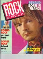 ROCK & FOLK -Renaud - Porno Rock - Soviet Rock - Sex Pistols Et Punk Rock - Muziek