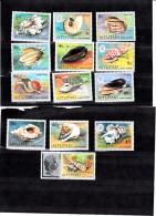 Aitutaki 82/94 Schelpen/shells Compl.set MNH - Aitutaki