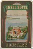 Insel Hotel/ KONSTANZ/ Allemagne/ Vers 1945-1955     EVM13 - Etiquettes D'hotels