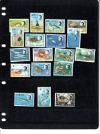 British Indian Territory 16/33 Zeefauna/sealife/faune Maritime Compl.set MNH - Territoire Britannique De L'Océan Indien