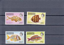 Barbuda Michel-cataloog 21/24 Vissen/fishes/poissons Set MNH ** - Antigua & Barbuda (...-1981)