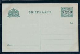 Entier Postal Nederland, 3 Sur 2 1/2 Cent Non Circulé (4615) - Postal Stationery
