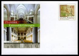 24928) BRD - Ganzsache Michel USo ? Ausgabe 2012 - ** Ungebraucht - 55C Grimms Märchen - 275 Jahre Uni Göttingen - Buste - Nuovi