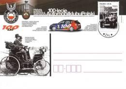 M POLAND - Postcard - 2009.12.09. Cp 1526 History Of Polish Sports Associations 100 Years Of Automobile Polish - Enteros Postales