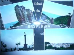GASPERINA Catanzaro 4 Vedute Usata 28.7.65 - Italy