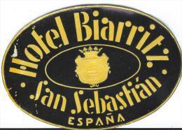 Hotel Biarritz/SAN SEBASTIAN //Espagne /Vers 1945-1955       EVM32
