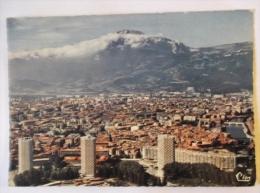 GRENOBLE QUARTIER DE L ILE VERTE VUE AERIENNE - Grenoble