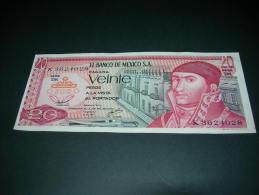 Mexico.  20 Pesos. - Messico