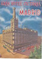 Gran Hotel Victoria/MADRID/Espagne /Vers 1945-1955       EVM38 - Etiquettes D'hotels