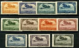 Maroc (1922) PA N 1 à 11 * (charniere) - Neufs