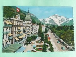 INTERLAKEN - Hotels Viktoria Und Jungfrau - BE Berne