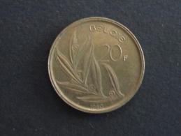 1980 - 20 Francs Baudouin Belgique - 07. 20 Francs