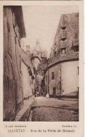 IMAGE CHOCOLAT SCHAAL- Format  70 X 45mm - Série C - 5 - SELESTAT (Bas-Rhin) Rue De La Porte De Breisach - Vieux Papiers
