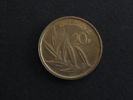 1981 - 20 Francs Baudouin Belgique - 1951-1993: Baudouin I