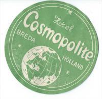 Hotel Cosmopolite/BREDA/ Hollande / Vers 1945-1955       EVM47