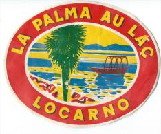 La Palma au Lac / LOCARNO/ Italie/ Vers 1945-1955       EVM53