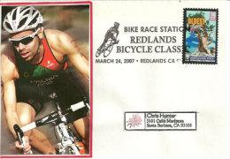 USA.Bike Race Redlands Bicycle Classic 2007,Californie, Oblitération Illustrée , Sur Enveloppe Souvenir. - Ciclismo