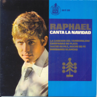 """"""" Raphael. Tamborilero, Noche De Paz.... """" Disque Vinyle 45 Tours - Christmas Carols"""