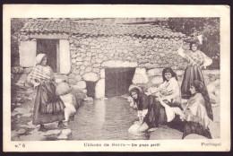 UNHAES/UNHAIS DA SERRA / COVILHÃ / CASTELO BRANCO / PORTUGAL.Costumes  Um Grupo Gentil Lavadeiras,lavandière Postal N&or - Castelo Branco