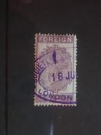 1880,s Queen Victoria Three Pence   Foreign Bill - 1840-1901 (Victoria)