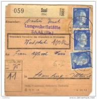 Saales - Marcophilie (Lettres)