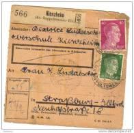 Kientzheim Près De Ribeauvillé - Marcophilie (Lettres)