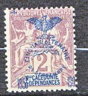 N-CALEDONIE  N� 68 NEUF* TB