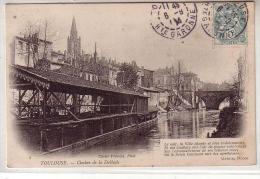 31 TOULOUSE - Clocher De La Dalbade - Le Soir , La Ville Chante ... Gabriel DUCOS - Bateaux Lavoirs -  Précurseur - Toulouse