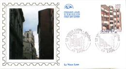 Enveloppe  1er  Jour   LE  VIEUX   LYON     RHONE   2001 - FDC