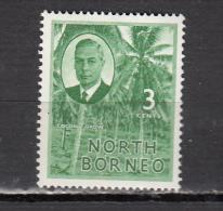 BORNEO DU NORD * YT N ° 282 - Bornéo Du Nord (...-1963)