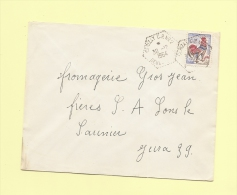 Cerizay CP N°2 - Deux Sevres - 30-12-1964 - Correspondant Postaux - Marcophilie (Lettres)
