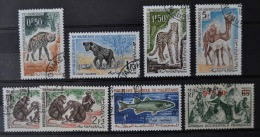 Mauritania - Mauritanie 1944 - 1965, Lot Of 8 Stamps (o), Used - Mauritanië (1960-...)