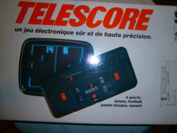 ANCIENNE CONSOLE JEU TELESCORE - Consoles De Jeux