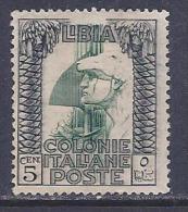 Libya, Scott # 22 Unused No Gum Roman Legionary, 1921 - Libya