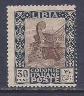 Libya, Scott # 26 Mint Hinged Ancient Galley, 1921, CV$36.00 - Libya